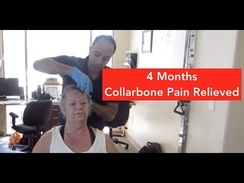 Chronic Collarbone Pain Relieved Before Your Eyes!