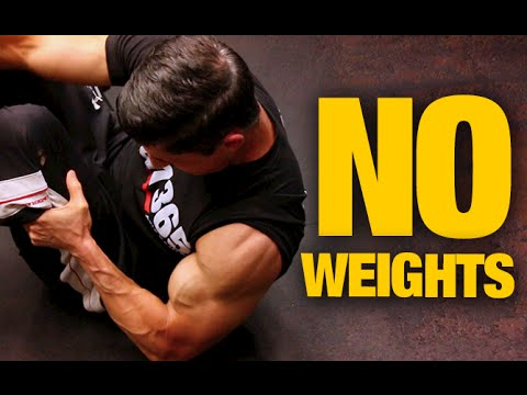 Bodyweight Home Arms Workout (NO WEIGHTS NEEDED!)