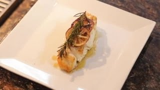Baked Halibut Using Olive Oil Rosemary Garlic Divine Dishes
