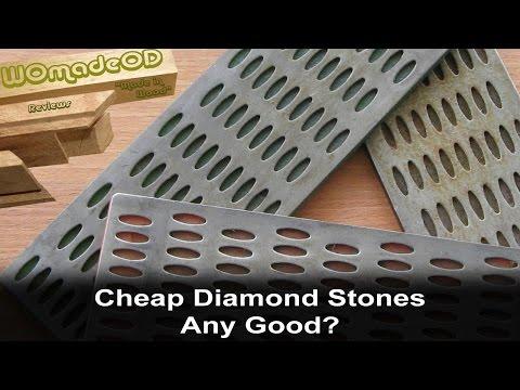 Cheap Diamond Sharpening Stones - Any Good?