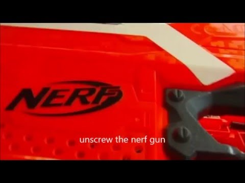 How to power up your Nerf Stryfe tutorial