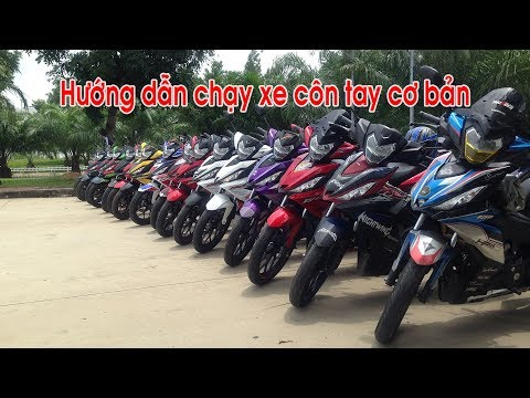 Winner 150 | HƯỚNG DẪN CHẠY XE CÔN TAY Honda Winner 150 Ver 2