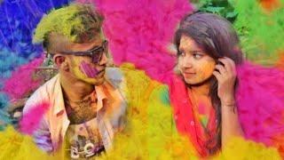 Tere dar par sanam chale aaye Cover Video|| Holi Special Love Story|| Piku Creation
