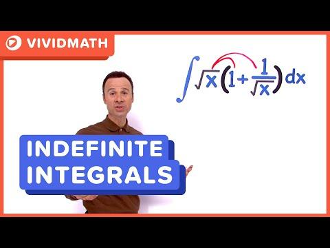 02 Indefinite Integrals 04 - VividMaths.com