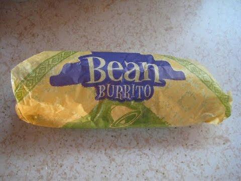 How To Make Taco Bell Bean Burrito!