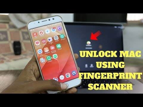 Use Android Smartphone's Fingerprint Scanner to unlock MacBook