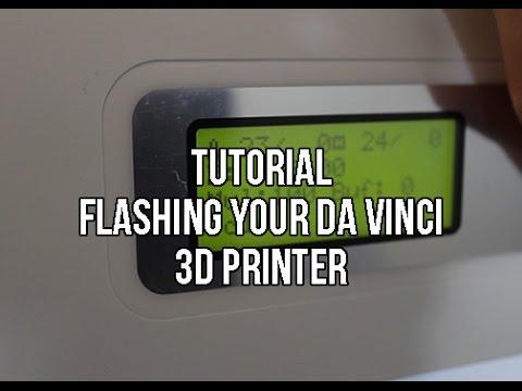 Tutorial: How To Flash Your Da Vinci 3d Printer With Repetier Host | 3d  Printer Hacks - playithub com