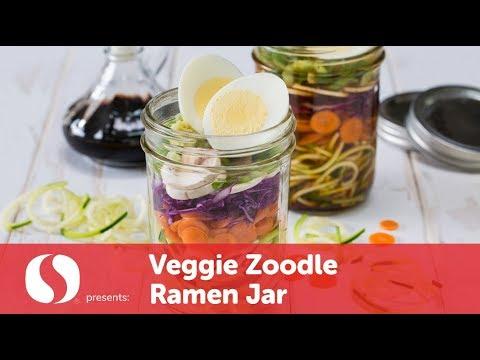 Veggie Zoodle Ramen Jar | New Year Recipes | Safeway