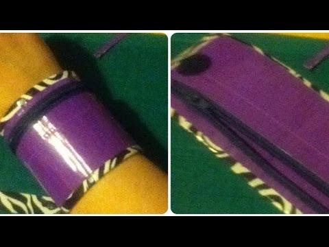 Tutorial: Duct Tape Wrist Wallet