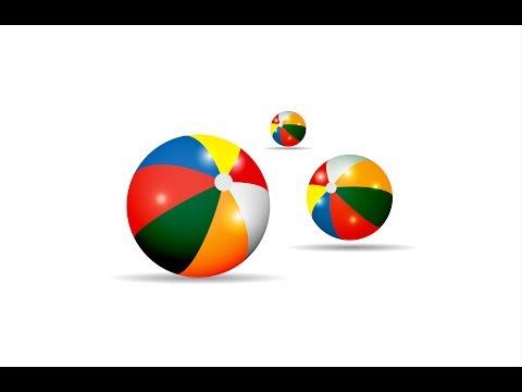Creating a beach ball in Adobe illustrator CC