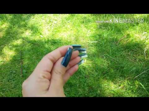 Showing My Natural Nails Outdoors