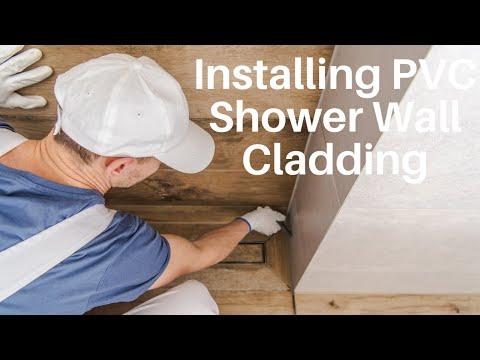 Installing PVC Shower Wall Cladding