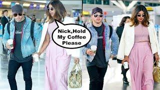Priyanka Chopra And Nick Jonas CAUGHT Together At Airport Going For Vacation
