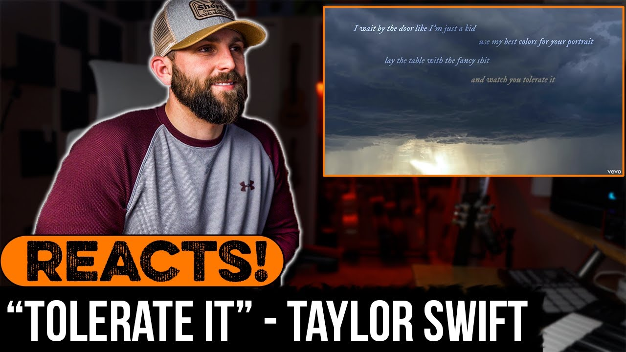 """REACTING to Taylor Swift - """"Tolerate It"""""""