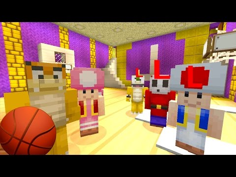 Minecraft Wii U - Mushroom Kingdom Academy - Getting Bullied [2]