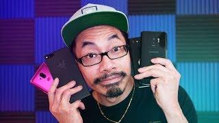 Blind Speaker Test: Galaxy S9, Razer Phone, LG G7, Pixel 2 XL