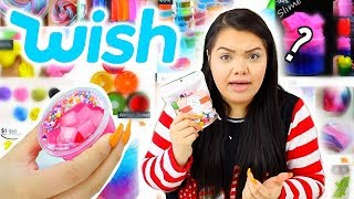 Download testing Slime products I bought on Wish.... Haul? Video
