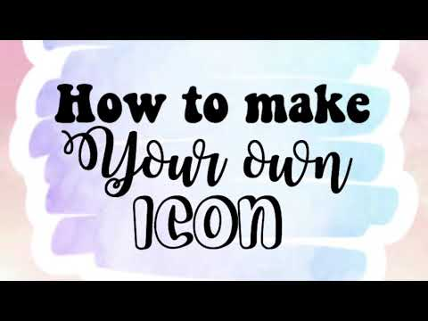HOW TO MAKE YOUR OWN iNSTAGRAM/ FAN PAGE iCONS WITH ONLY 2 APPS!!
