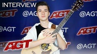 Interview: Marcin Patrzalek Remembers His First Performance On AGT - America's Got Talent 2019