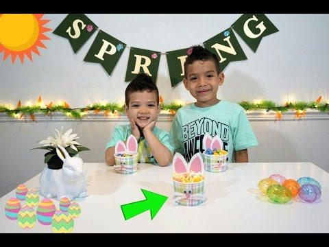 Kids YouTube How To Make Easter Treats  | Fun Children Projects