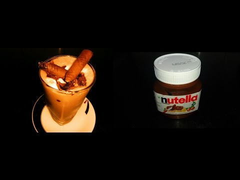 How to make Nutella Thick Shake