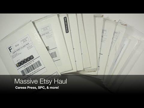 Massive Sticker Haul // ft. Caress Press, SPC, and more!