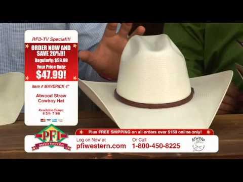 Atwood Straw Cowboy Hats