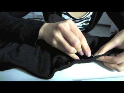 diy: remove hood from vest/sweater (easy version)