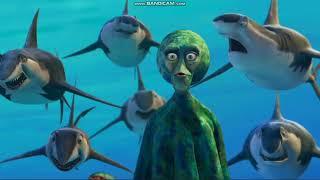 Shark Tale - Lenny VS Oscar scene