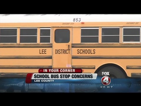 Mother's request to switch son's 'dangerous' bus stop denied by school district