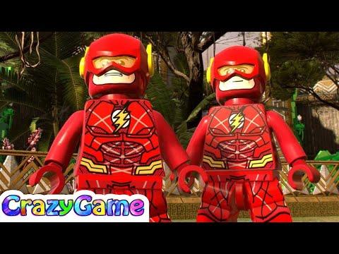 The Flash Justice League Free Roam - LEGO Marvel Super Heroes 2 MOD