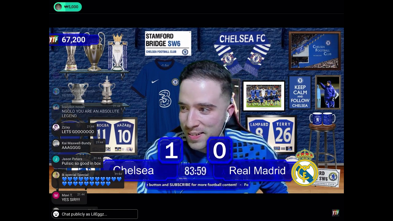 Younes Talks Football reaction to Chelsea beating Real Madrid 🤣🤣