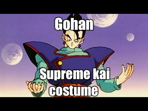 How to make Gohan with supreme kai costume in DB Xenoverse 2