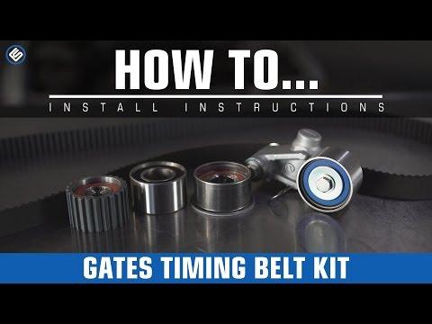 How To: Subaru Impreza Gates Timing Belt Kit (SOHC)