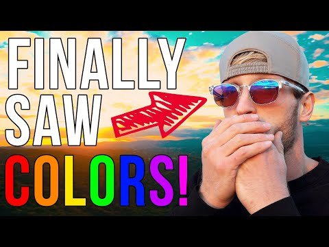 THESE GLASSES CURED MY COLORBLINDNESS! (AGAIN)