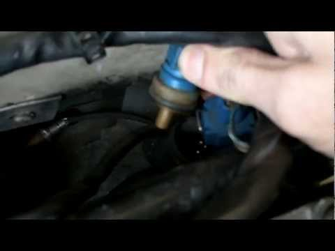 98 Audi A4 Coolant Temperature Sensor Location & Removal