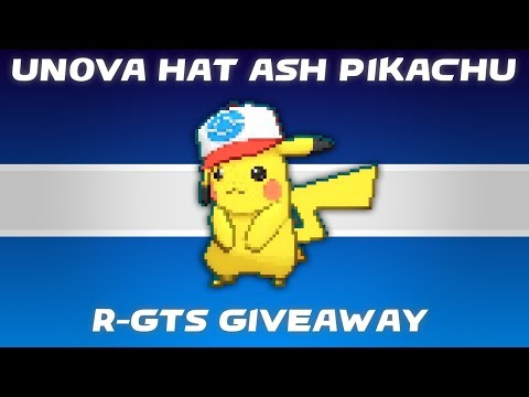 Everyone who watches gets a Unova Hat Ash Pikachu. !Giveaway for info. Dreams can be real.