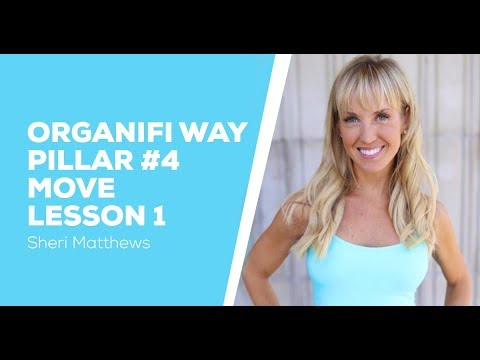 Organifi Way Pillar 4 Move - Lesson 1 - Legs & Booty - Sheri Matthews
