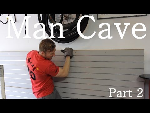 Building The Ultimate Garage Man Cave Part 2