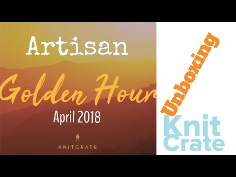 Unboxing Artisan KNITCRATE April 2018 | TeoMakes