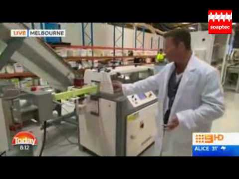 NEWS FROM TILLEY SOAPS AUSTRALIA TOILET SOAP FINISHING LINE