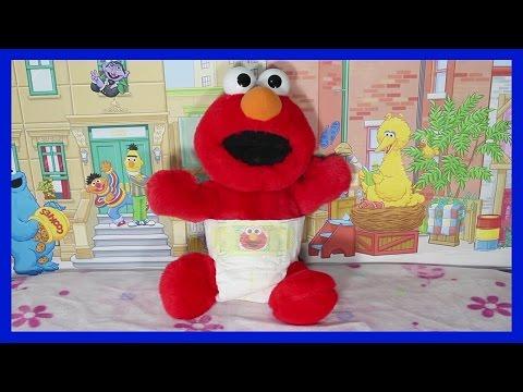 HOW TO CHANGE A DIRTY DIAPER - Elmo Sesame Street Lego