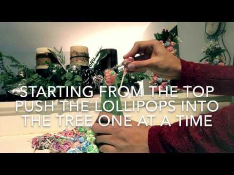Holiday Lollipop Tree