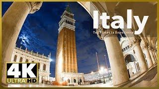 ITALY 4K ULTRA HD SAMPLER VIDEO, stock video demo