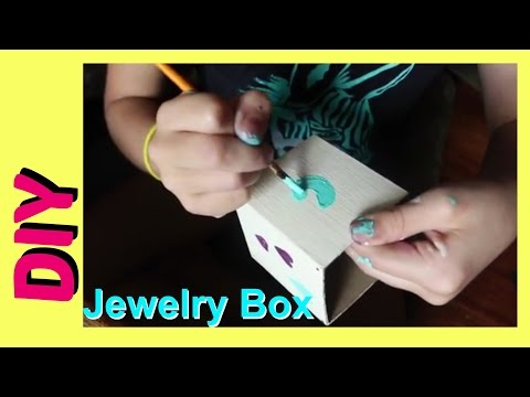 DIY Jewelry Holder | How to Make a Jewelry Box | Cute Box For Anything best friends