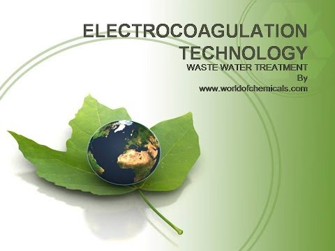 Electrocoagulation technology for the wastewater treatment