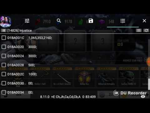 How to hack PROMOTION X Injutice 2.15 [Charecter code list included]