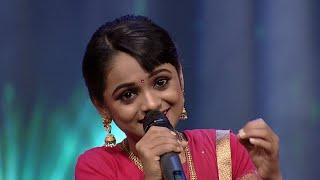 Paadam Namukku Paadam | 'Chinna Chinna Aasai' song by Nima | Mazhavil Manorama