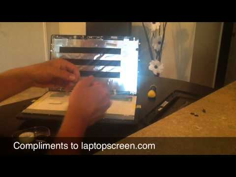 Laptop Screen Replacement / How to replace laptop screen Acer Travelmate 5744-6870