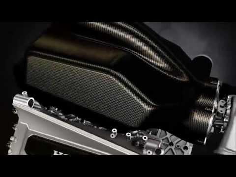 Honda publica vídeo mostrando o novo motor V6 Turbo em funcionando